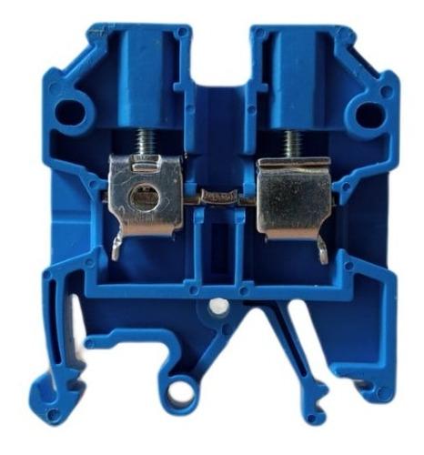 Conector De Passagem Neutro Borne 4mm Jut2-4