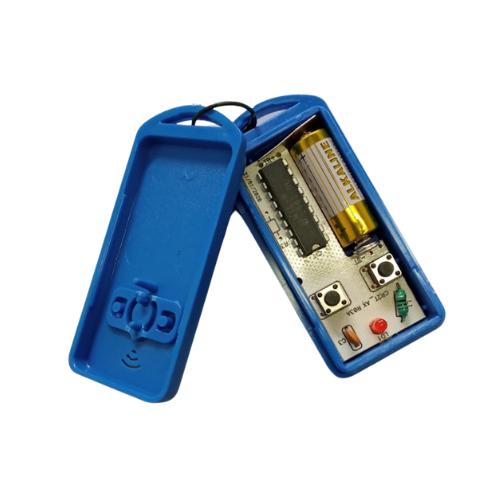 Controle Remoto Para Portão Eletrônico 299 Mhz com Pilha Azul