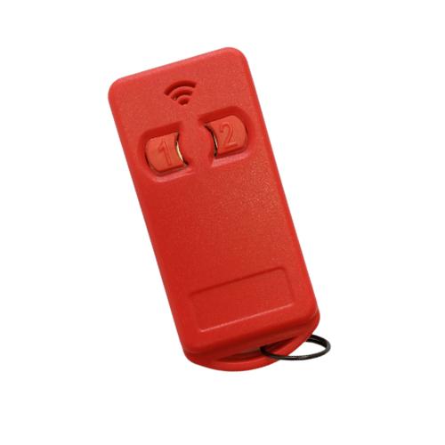 Controle Remoto Para Portão Eletrônico 299 Mhz com Pilha Vermelho