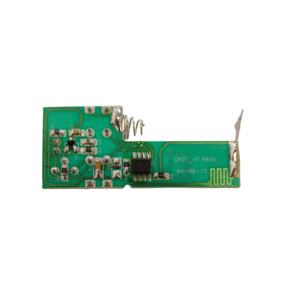 Controle Remoto Para Portão Eletrônico 433 Mhz com Pilha Preto