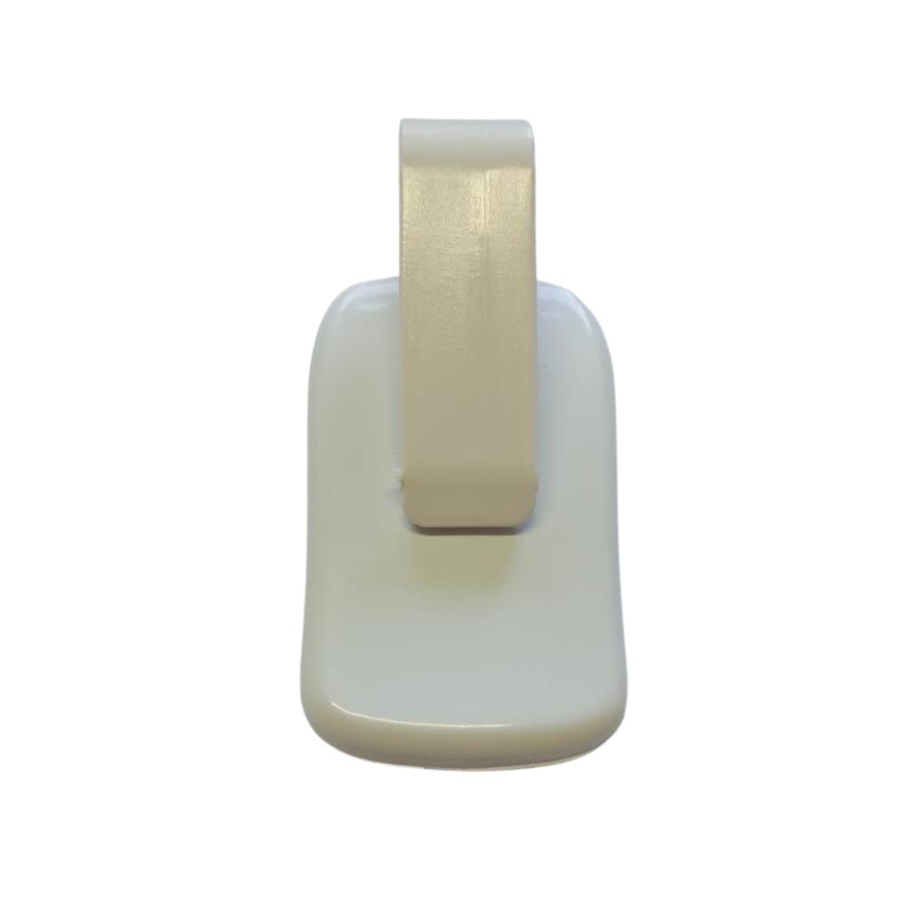 Controle Remoto TX Clic Para Portão Eletrônico 433Mhz com Pilha Celtron Branco