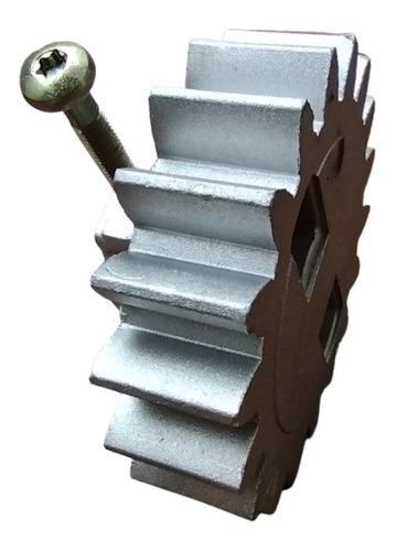 Engrenagem Externa de Alumínio Para Motor Deslizante 18 Dentes