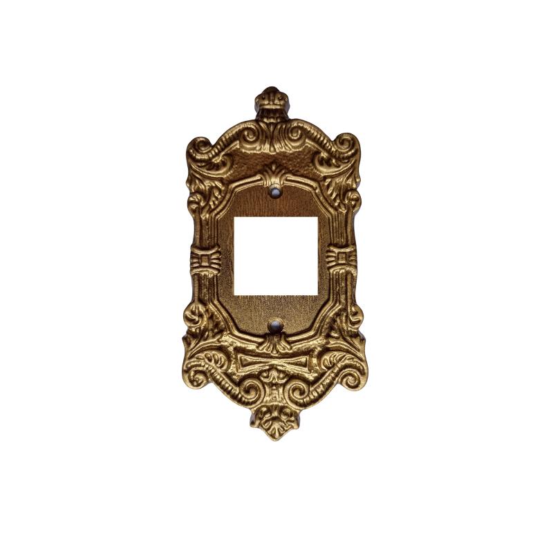 Espelho Decorativo Colonial Vintage Retrô 2T 4x2