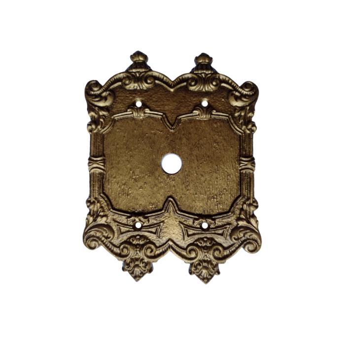 Espelho Placa Chapinha Decoração Vintage Retrô Para Cabo Televisão Telefone