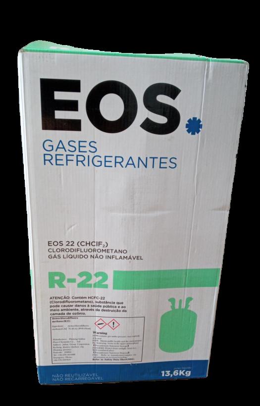 Gás Refrigerante R22 Botijão 13,6kg EOS