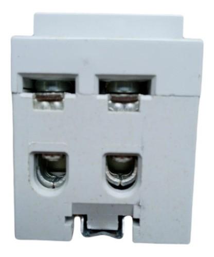 Interruptor Diferencial Disjuntor Bipolor Dr 63a