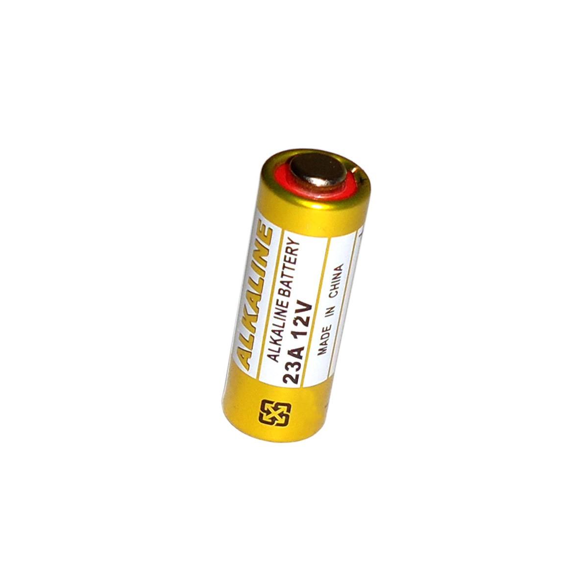 Kit 100 Pilhas Bateria 23a 12v Controle Alarme Portão Bulk