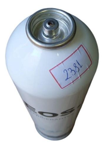 Kit 2 Gás Refrigerante R134a Eos 750g Refrigeração