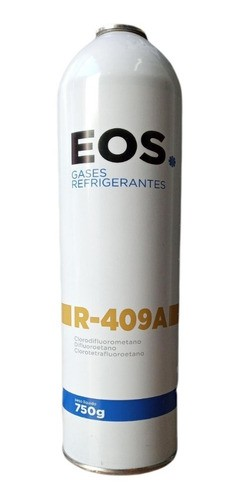 Kit 2 Gás Refrigerante R-409a 750gr EOS