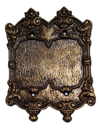 Kit 5 Placas Espelhos Chapinhas Decorativos Retrô Colonial