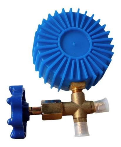 Manifold Manômetro Baixa Simples Gás R22/R134A/R404A