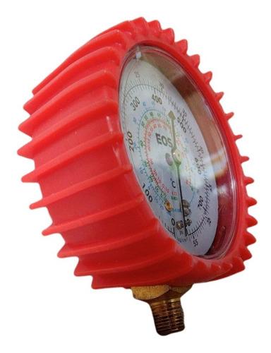 Manômetro Alta Pressão Manifold R22 407C R410A Com Proteção