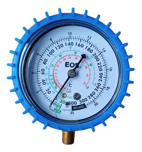 Manômetro Baixa Pressão Manifold R22 407C R410A Com Proteção