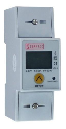 Medidor De Energia Monofásico Medição Direta com Botão de Reset