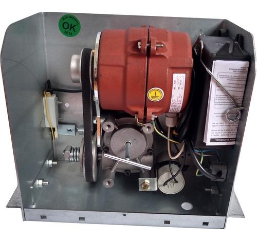 Motor Movimento DM08 Portão Deslizante Cremalheira 3,40m Com 2 Controles