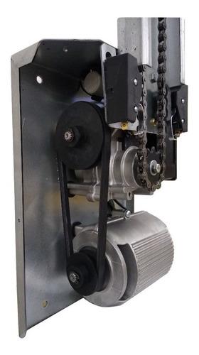 Motor para Portão De Corrente 1/3cv Com 2 Calhas De 2mts 110V