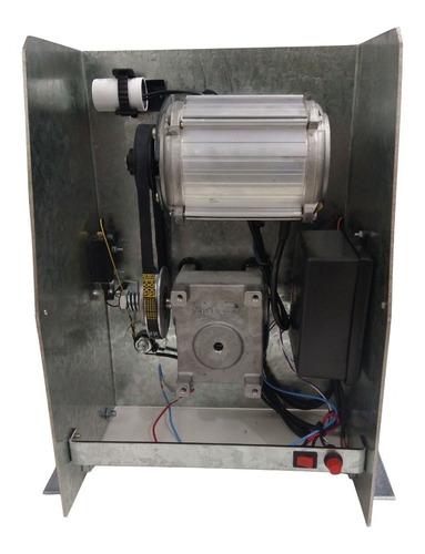 Motor Portão Deslizante Semi Industrial Corrente 5 Mts 110v