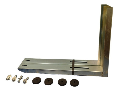 Par Suportes Split 500mm Não Enferruja Galvanizado Até 45kg