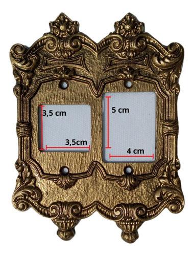Placa Chapinha Espelho Decorativo Vintage Retrô Colonial Tomada