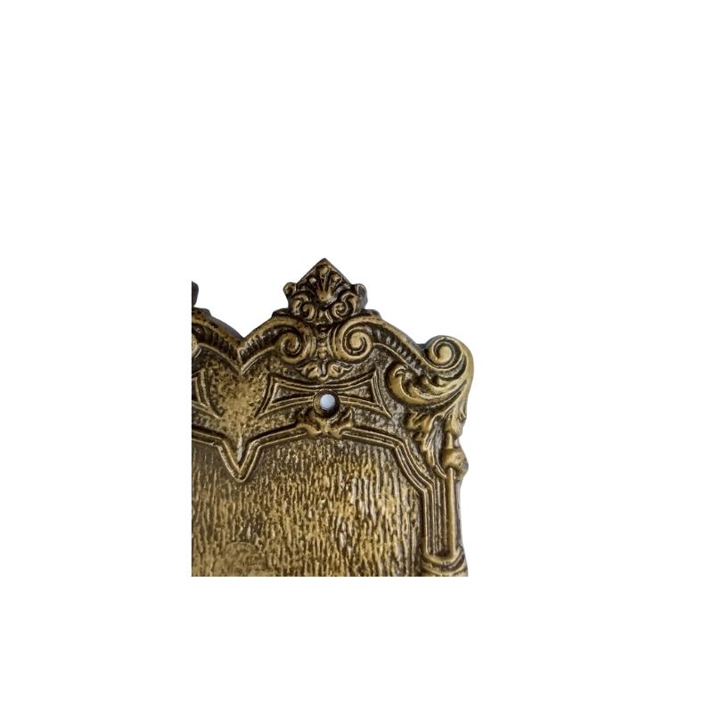 Placa Espelho Chapinha Decoração Retrô Colonial