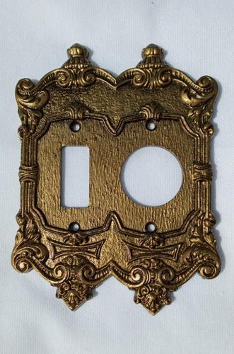 Placa Espelho Chapinha Decorativo Vintage Retrô Colonial