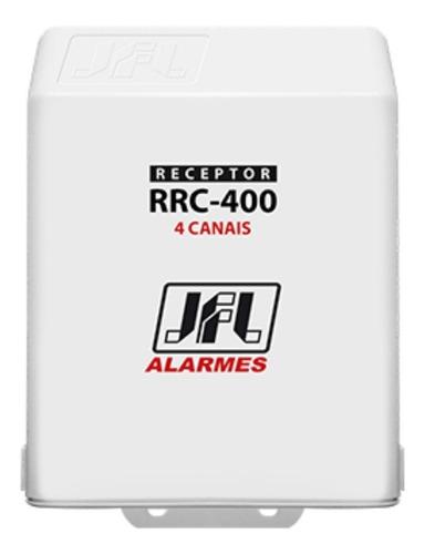 Receptor Programável De 4 Canais RRC-400 433mhz 12v JFL
