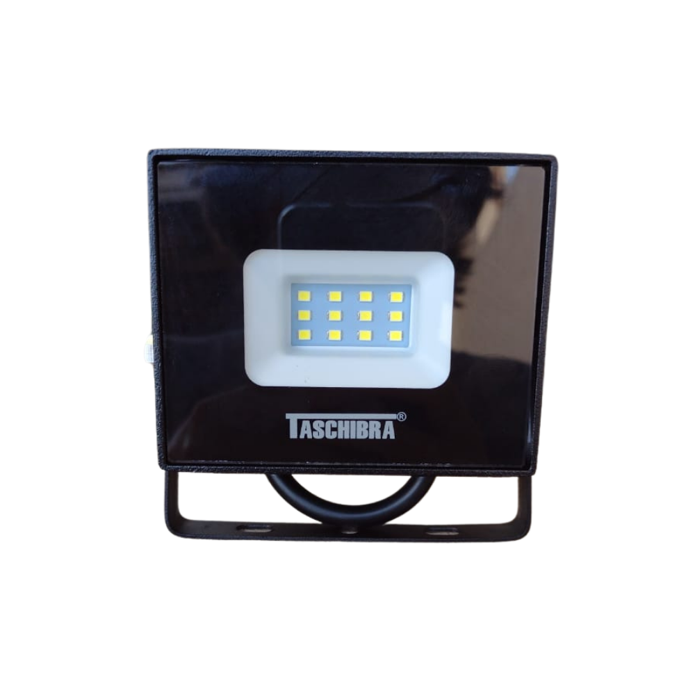 Refletor Taschibra TR 10W Slim 6500K Preto