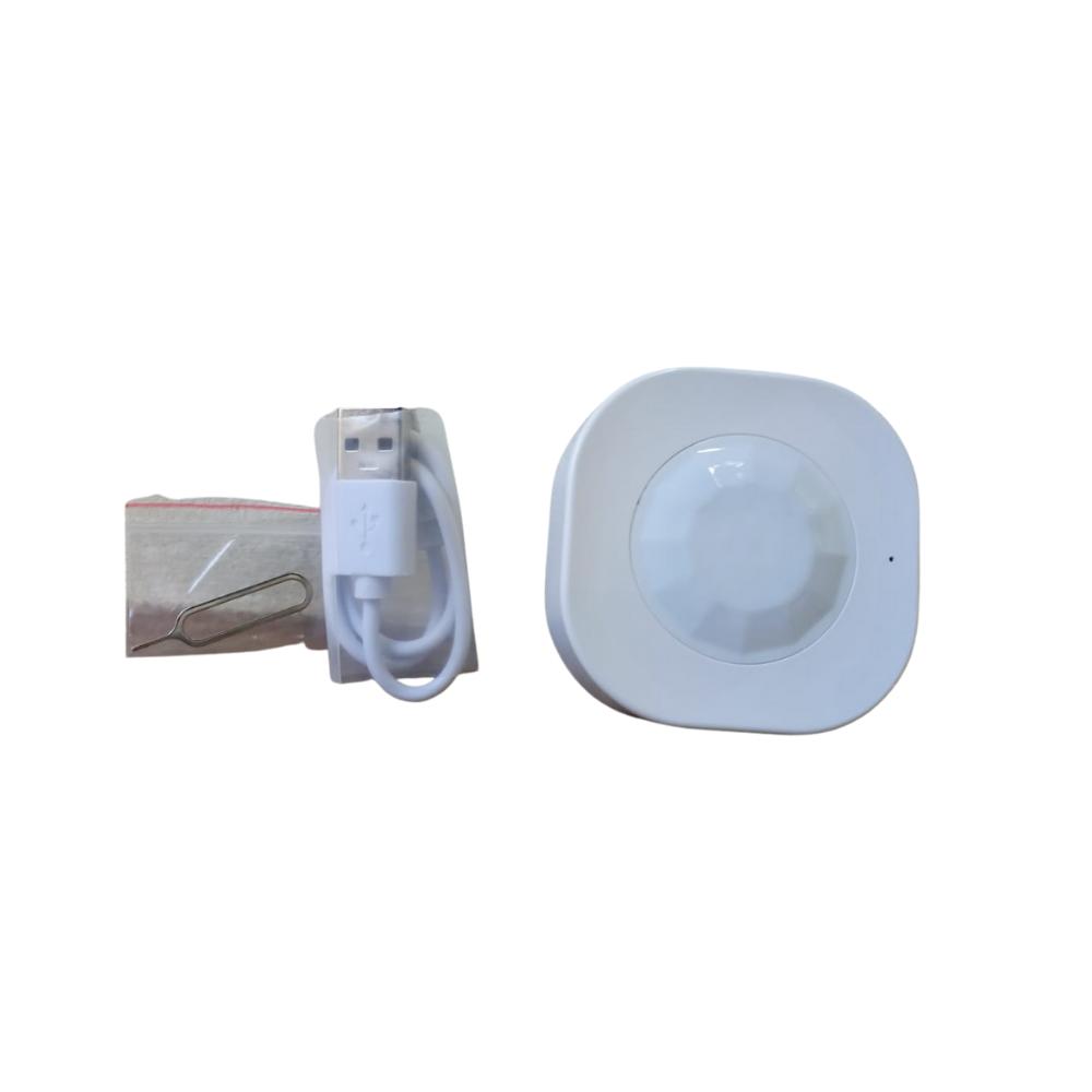 Sensor de presença Inteligente WiFi AGL com Bateria Recarregável