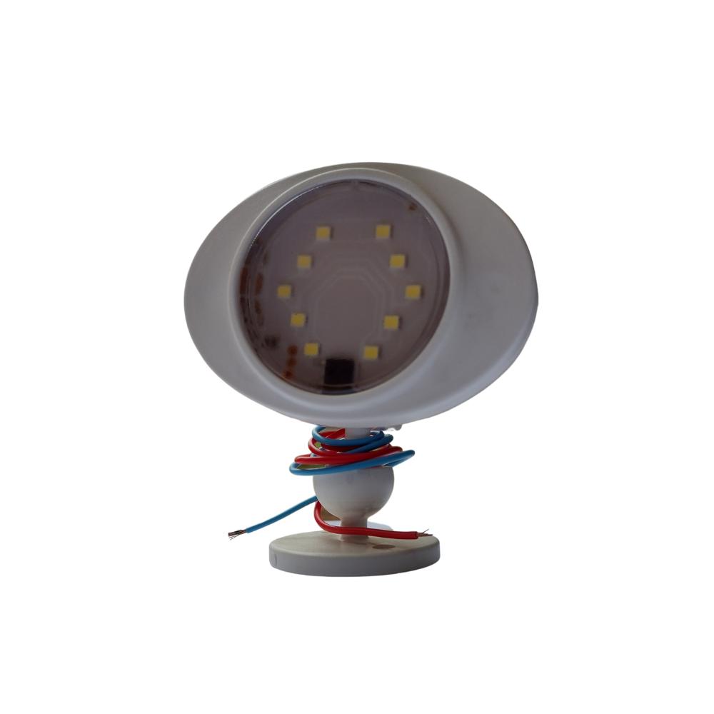 Spot Led 12 Volts/ 3,3 Watts Iluminação De Emergência