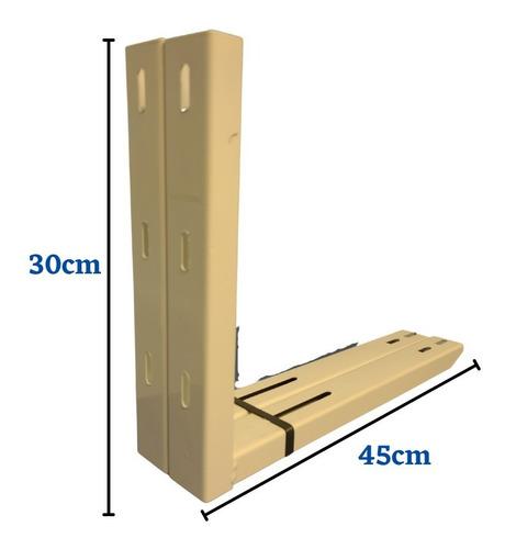Suportes Metal Ar Condicionado Barril 450mm Até 12.000 Btus