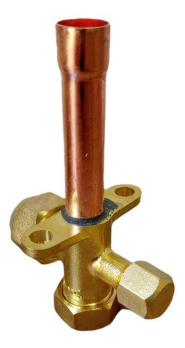 Válvula De Serviço 3/4 Tipo Schrader Ar Condicionado Condensadora Split