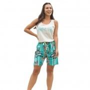 Pijama Bermudol em Malha 100% algodão