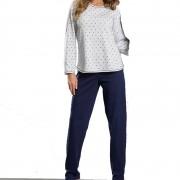 Pijama Feminino inverno Plus Size Flanelado Tamanho 48
