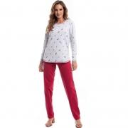 Pijama Plus Size de Inverno Moletinho