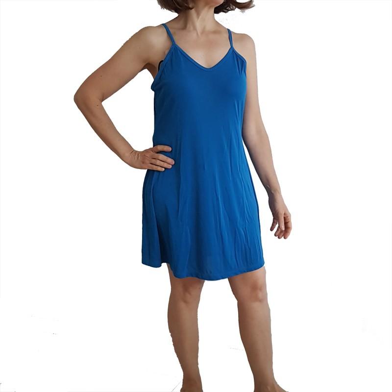Camisola Azul de Malha Fria Tamanho 46