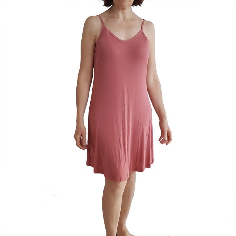 Camisola Rosê de Malha Fria Tamanho 48