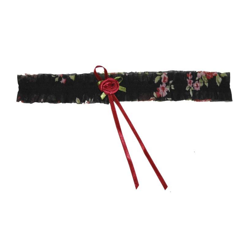 Liga de Perna Floral - Empório das Calcinhas R00222