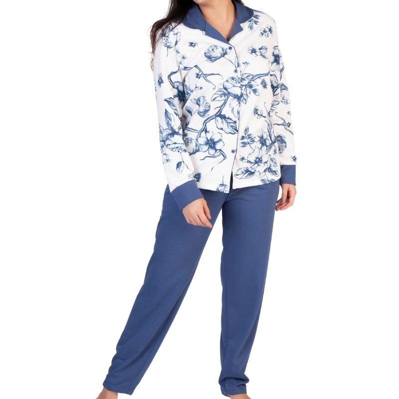 Pijama Feminino Inverno Moletinho Com Abertura