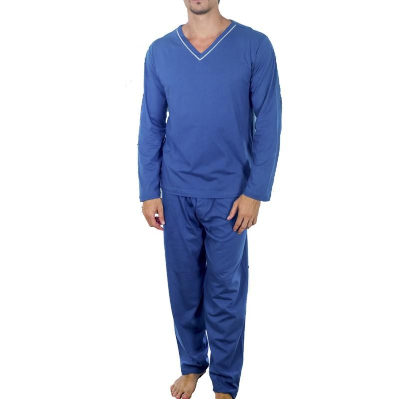 Pijama Masculino de Algodão de Inverno