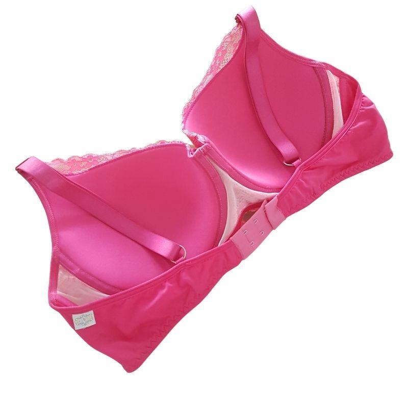Sutiã Plus Size Pink Tamanho 52