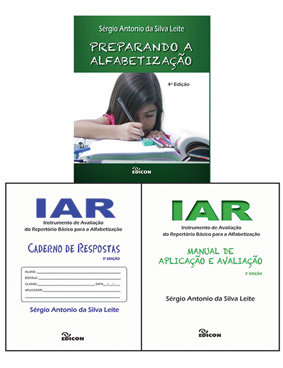 Kit Iar Livro + Caderno + Manual
