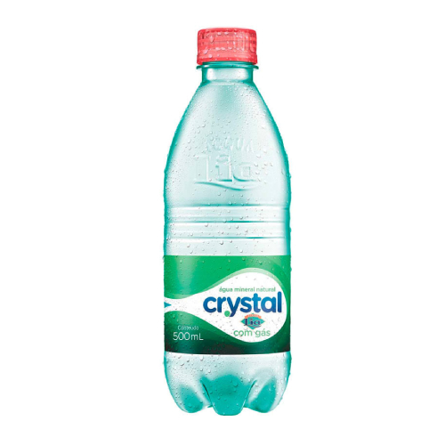 Água Com Gás 500ML Crystal