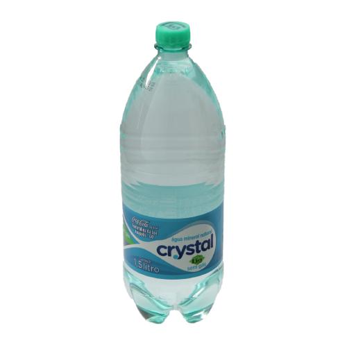 Água Sem Gás 1,5L Crystal