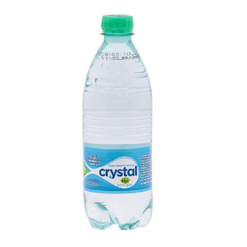 Água Sem Gás 500Ml Crystal