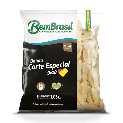 Batata Corte Especial 1,05Kg Bem Brasil