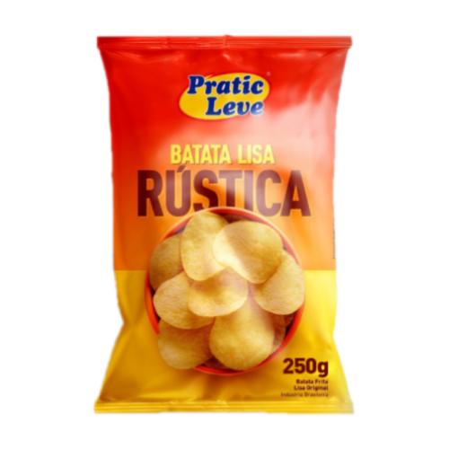 Batata Lisa Rústica Original 250G Pratic Leve