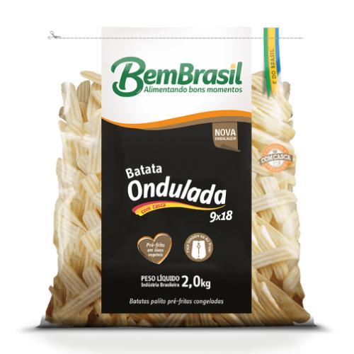 Batata Ondulada Corte Especial 2Kg Bem Brasil