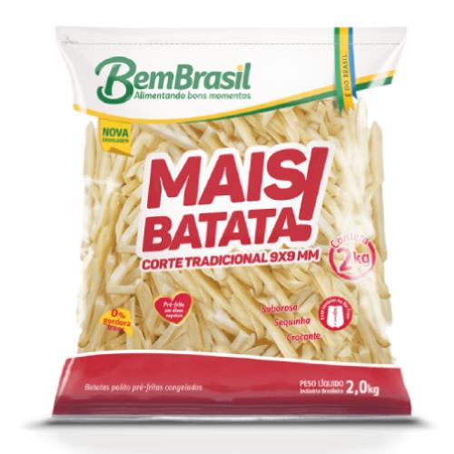 Batata Palito Mais Batata 2Kg Bem Brasil