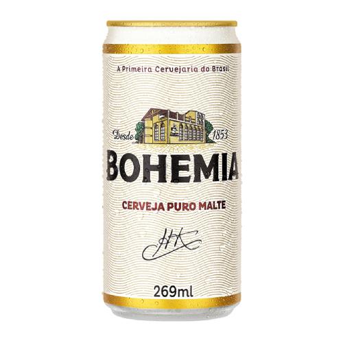 Cerveja Bohemia 269Ml Lata