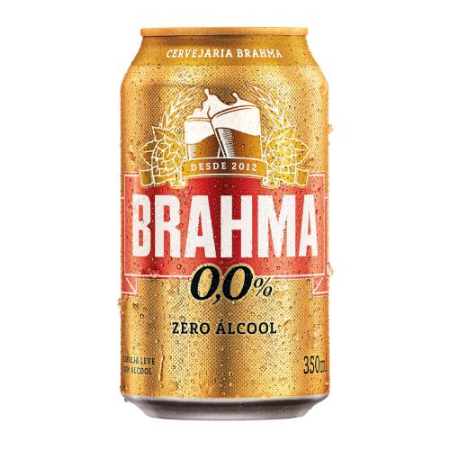 Cerveja Brahma Chopp Zero 350Ml Lata